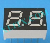 "Blue 7 Segment Display LED 7-Segment 0.28"" 2-Digit Dual Common Anode CA"