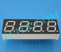 "Blue 7 Segment Display LED 7-Segment 0.39"" 4-Digit Four Common Anode CA"