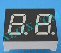 "Blue 7 Segment Display LED 7-Segment 0.4"" 2-Digit 0.40"" Dual Common Anode CA"