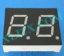 "Blue 7 Segment Display LED 7-Segment 0.43"" 2-Digit Dual Common Anode CA"