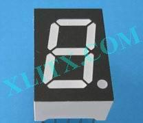 "Blue 7 Segment Display LED 7-Segment 0.52"" 1-Digit Single Common Anode CA"