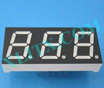 "Blue 7 Segment Display LED 7-Segment 0.52"" 3-Digit Three Common Anode CA"
