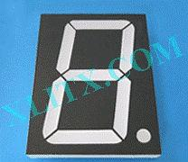 "Blue 7 Segment Display LED 7-Segment 5.0"" 5 inch 1-Digit Single Common Anode CA 5inch"