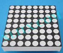 Blue 8x8 Dot Matrix Display LED 4.8mm Diameter 1.9 inch Common Anode