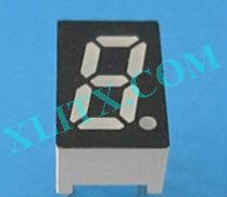 "Blue LED Display 7 Segment 0.32"" 1-Digit Common Anode CA Single"