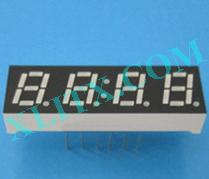 "Orange Seven Segment LED Display 0.28 inch 0.28"" Four Digit 4 Common Anode"
