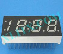 "Orange Seven Segment LED Display 0.33 inch 0.33"" Four Digit 4 Common Anode"