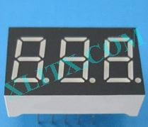"Orange Seven Segment LED Display 0.36 inch 0.36"" Three Digit 3 Common Anode"