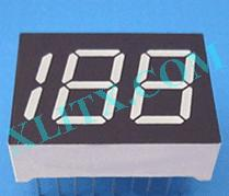"Orange Seven Segment LED Display 0.5 inch 0.5"" Three Digit 3 Common Anode 0.50inch"