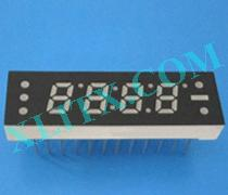 Red Ultra Bright LED 7 Segment Display 0.25 inch Four Digit Common Anode CA