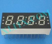 "Red Ultra Bright LED 7 Segment Display 0.3 inch 0.3"" Four Digit Common Anode CA"