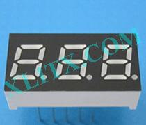 "Red Ultra Bright LED 7 Segment Display 0.3 inch 0.3"" Three Digit Common Anode CA"