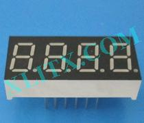 Red Ultra Bright LED 7 Segment Display 0.36 inch Four Digit Common Anode CA