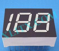 "Red Ultra Bright LED 7 Segment Display 0.5 inch 0.5"" Three Digit Common Anode CA 0.50inch"