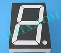 Red Ultra Bright LED 7 Segment Display 3.0 inch 3 Single Digit Common Anode CA 3inch