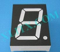 "White 7seg Display Seven Segment LED 1.20 inch 1.2"" 1 Digit Single CA CC"
