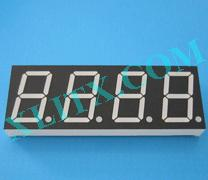 "Yellow LED Seven Segment Display 0.8"" Four Digit 4 0.8 Common Cathode CC 0.80inch"