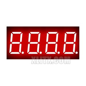 3461AS - 0.36-inch Red 4-Digit CC LED 7-Segment Display