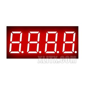 3461BH - 0.36-inch Red 4-Digit CA LED 7-Segment Display