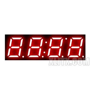 3492AS - 0.39-inch Red 4-Digit CC LED 7-Segment Display
