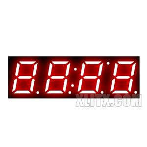 3492BS - 0.39-inch Red 4-Digit CA LED 7-Segment Display