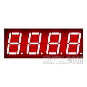 5641BH - 0.56-inch Red 4-Digit CA LED 7-Segment Display
