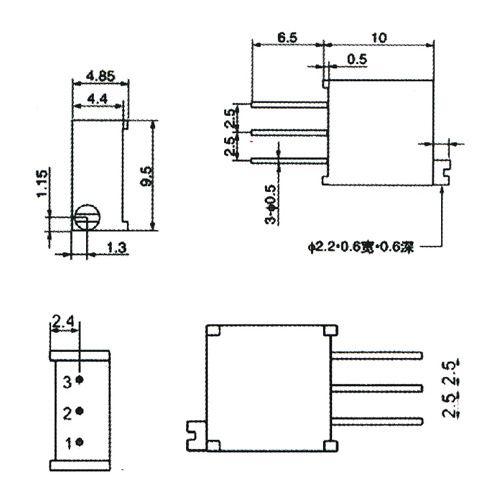 trim pot resistors diagram   26 wiring diagram images