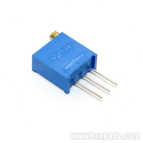 50K Ohm 3296W-503 Square Trimming MultiTurn Potentiometer Trimpot Potenciometro High Precision 100PCS Lot